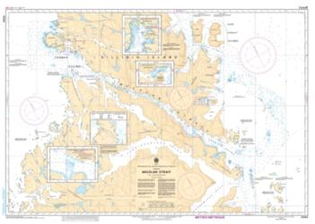 MCLELAN STRAIT (5064) by Canadian Hydrographic Service