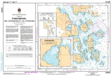 PUNCHBOWL INLET AND APPROACHES/ET LES APPROCHES (5080) by Canadian Hydrographic Service