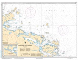 DOMINO POINT TO/A CAPE NORTH (5133) by Canadian Hydrographic Service