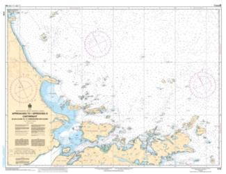 APPROACHES TO CARTWRIGHT, BLACK ISLAND TO TUMBLEDOWN DICK ISLAND (5134) by Canadian Hydrographic Service