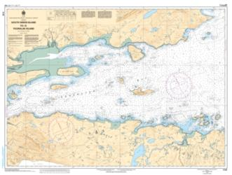SOUTH GREEN ISLAND TO/A TICORALAK ISLAND (5140) by Canadian Hydrographic Service