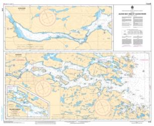 ALEXIS BAY AND/ET ALEXIS RIVER (5179) by Canadian Hydrographic Service