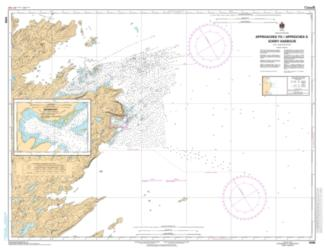 APPROACH TO/ APPROCHES A SORRY HARBOR (5340) by Canadian Hydrographic Service