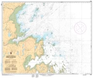 APPROCHES A/APPROACHES TO HOPES ADVANCE BAY (5348) by Canadian Hydrographic Service