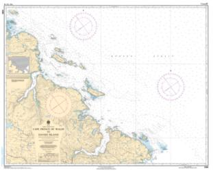 CAPE PRINCE OF WALES TO DAVIES ISLAND (5365) by Canadian Hydrographic Service