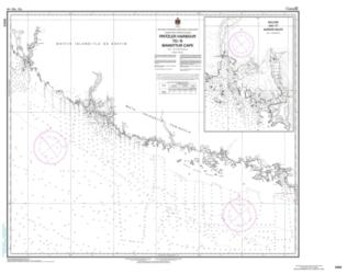 PRITZLER HARBOUR TO/A MANIITTUR CAPE (5403) by Canadian Hydrographic Service