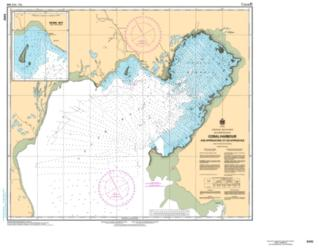 CORAL HARBOUR AND APPROACHES/ET LES APPROCHES (5410) by Canadian Hydrographic Service
