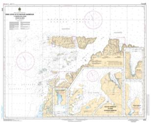 ERIK COVE TO/A NUVUK HARBOUR INCLUDING/Y COMPRIS DIGGES ISLANDS (5412) by Canadian Hydrographic Service
