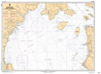 HUDSON BAY  BAIE D'HUDSON, NORTHERN PORTION/PARTIE NORD (5449) by Canadian Hydrographic Service