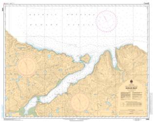 SUGLUK INLET (5458) by Canadian Hydrographic Service