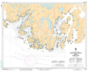 RESOLUTION HARBOUR AND/ET ACADIA COVE (5459) by Canadian Hydrographic Service