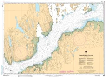 PASSAGE AUX FEUILLES (5468) by Canadian Hydrographic Service