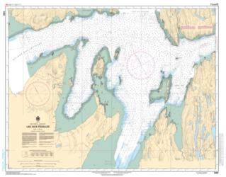 LAC AUX FEUILLES (5469) by Canadian Hydrographic Service