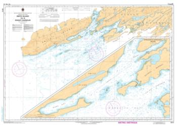 SMITH ISLAND TO/A KNIGHT HARBOUR (5512) by Canadian Hydrographic Service
