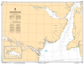 ROES WELCOME SOUND (CHESTERFIELD INLET TO/A CAPE MUNN) (5533) by Canadian Hydrographic Service