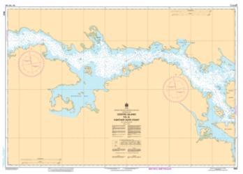 CENTRE ISLAND TO/A FARTHER HOPE POINT (5622) by Canadian Hydrographic Service