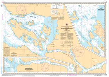 SCHOONER HARBOUR TO/A BAKER LAKE (5625) by Canadian Hydrographic Service