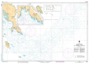 WHALE COVE AND APPROACHES / ET APPROCHES (5642) by Canadian Hydrographic Service