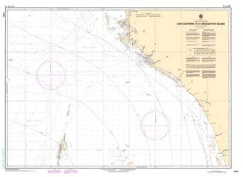CAPE DUFFERIN TO/A BROUGHTON ISLAND (5705) by Canadian Hydrographic Service