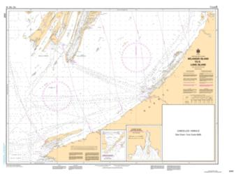 BELANGER ISLAND TO LONG ISLAND (5707) by Canadian Hydrographic Service