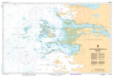 APPROCHES A/APPROACHES TO CHISASIBI (5720) by Canadian Hydrographic Service