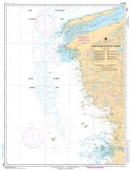 LONG ISLAND A/TO FORT GEORGE (5801) by Canadian Hydrographic Service