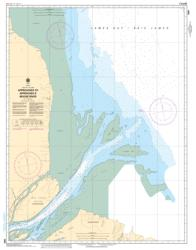 APPROACHES TO/APPROCHES A MOOSE RIVER (5860) by Canadian Hydrographic Service