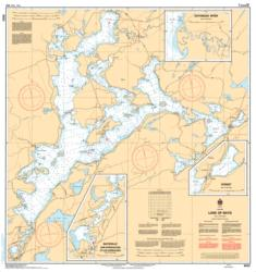 LAKE OF BAYS (6023) by Canadian Hydrographic Service