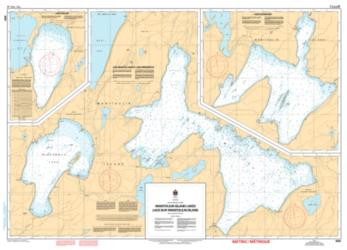 MANITOULIN ISLAND LAKES / LACS SUR MANITOULIN ISLAND (6030) by Canadian Hydrographic Service