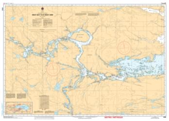 WEST BAY TO/A WEST ARM (6038) by Canadian Hydrographic Service