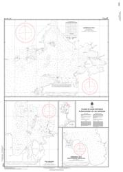 PLANS IN LAKE NIPIGON (6050) by Canadian Hydrographic Service