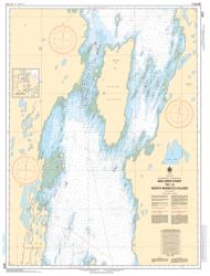 RED DEER POINT TO/A NORTH MANITOU ISLAND (6272) by Canadian Hydrographic Service