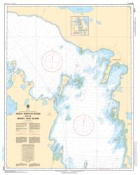 NORTH MANITOU ISLAND TO/A WHISKEY JACK ISLAND (6273) by Canadian Hydrographic Service
