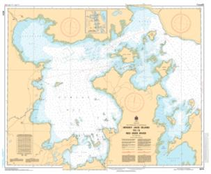 WHISKEY JACK ISLAND TO/A RED DEER RIVER (6274) by Canadian Hydrographic Service