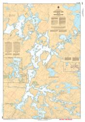 EAGLENEST LAKE TO/A WHITEDOG DAM (6285) by Canadian Hydrographic Service