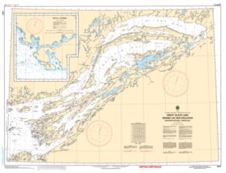 GREAT SLAVE LAKE/GRAND LAC DES ESCLAVES, EASTERN PORTION/PARTIE EST (6341) by Canadian Hydrographic Service