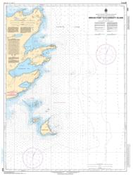 MIRAGE POINT TO/A HARDISTY ISLAND (6355) by Canadian Hydrographic Service