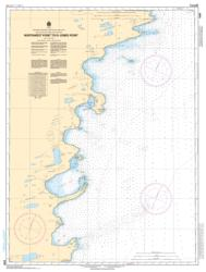 NORTHWEST POINT TO/A JONES POINT (6358) by Canadian Hydrographic Service