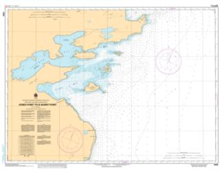 JONES POINT TO/A BURNT POINT (6359) by Canadian Hydrographic Service