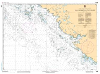 CABIN ISLANDS TO/AUX PILOT ISLANDS (6368) by Canadian Hydrographic Service