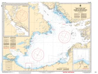 GREAT SLAVE LAKE / GRAND LAC DES ESCLAVES, WESTERN PORTION / PARTIE OUEST (6370) by Canadian Hydrographic Service
