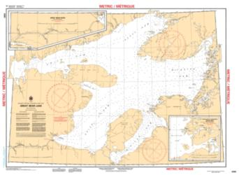 GREAT BEAR LAKE (6390) by Canadian Hydrographic Service