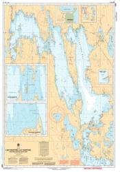 LAKE MANITOBA / LAC MANITOBA (NORTHERN PORTION / PARTIE NORD) (6506) by Canadian Hydrographic Service