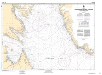 HUDSON STRAIT/DETROIT D'HUDSON TO/A GROENLAND (7011) by Canadian Hydrographic Service