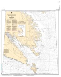 RESOLUTION ISLAND TO/A CAPE MERCY (7050) by Canadian Hydrographic Service