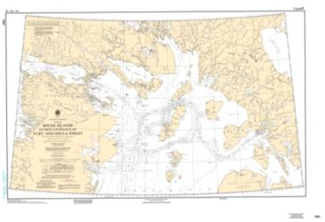 SPICER ISLANDS TO WEST ENTRANCE OF FURY AND HECLA STRAIT (7067) by Canadian Hydrographic Service