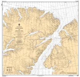 KANE BASIN TO LINCOLN SEA (7072) by Canadian Hydrographic Service