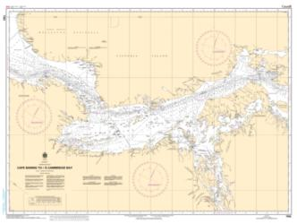 CAPE BARING TO/A CAMBRIDGE BAY (7082) by Canadian Hydrographic Service