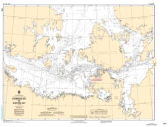 CAMBRIDGE BAY TO SHEPHERD BAY (7083) by Canadian Hydrographic Service