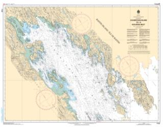 CULBERTSON ISLAND TO/A KOOJESSE INLET (7122) by Canadian Hydrographic Service